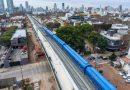 Viaducto San Martin: Fue inaugurado por el presidente Macri, junto al jefe de gobierno porteño y la gobernadora de la provincia