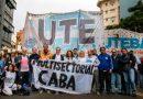 Clases Presenciales: Fuerte rechazo de la UTE en el territorio porteño